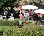 Apéro Champagne au Petit Ramier organisé par l' ASM